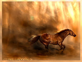 Ablaze by howlinghorse