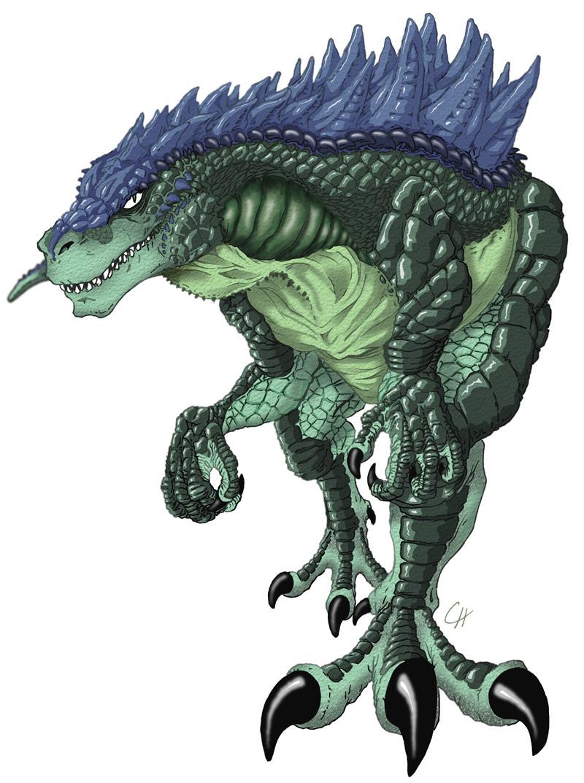 Godzilla by goatchumby