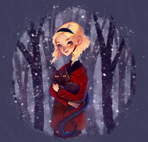 Chilling Adventures of Sabrina by insanikei