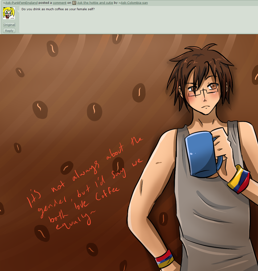 Ask Colombia, Q115 by Ask-Colombia-san