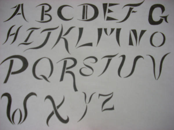 my tattoo alphabet by articwolfspirit on deviantart. Black Bedroom Furniture Sets. Home Design Ideas