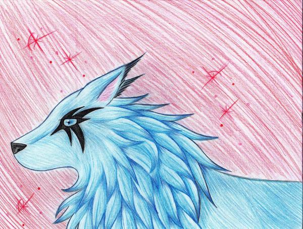 Blue Wulf by ArticWolfSpirit