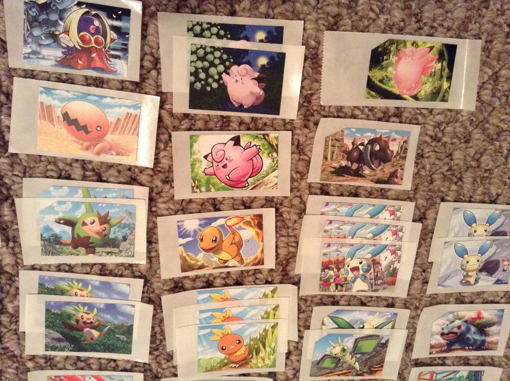 Pokemon Stickers for Sale 3 by ArticWolfSpirit