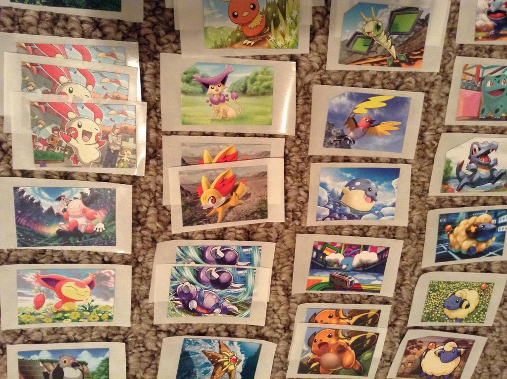 Pokemon Stickers for Sale 4 by ArticWolfSpirit