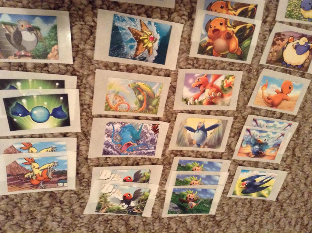 Pokemon Stickers for Sale  5 by ArticWolfSpirit