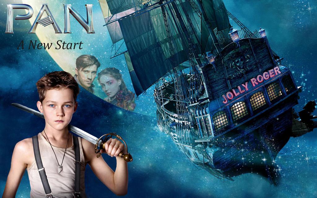 Peter Pan 2 Poster by ArticWolfSpirit