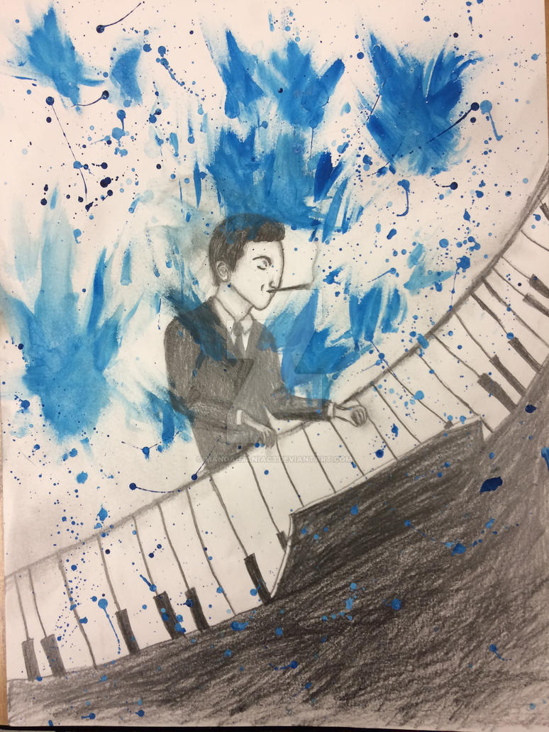 George Gershwin by Manga-maniac3