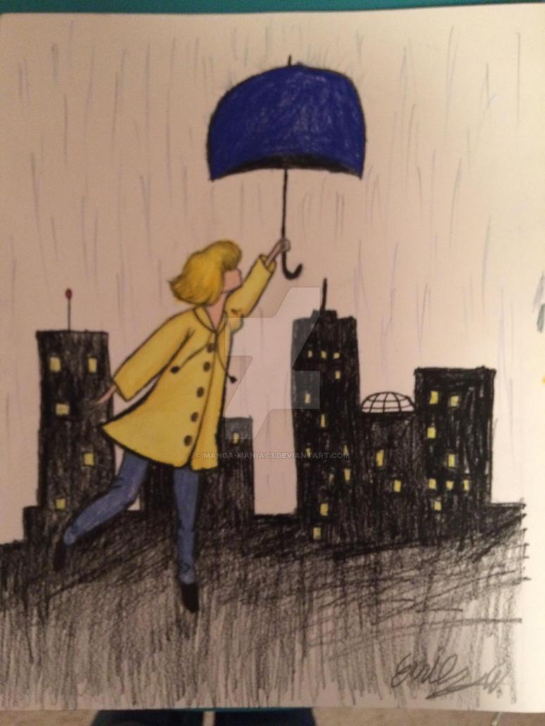 Umbrella Girl by Manga-maniac3