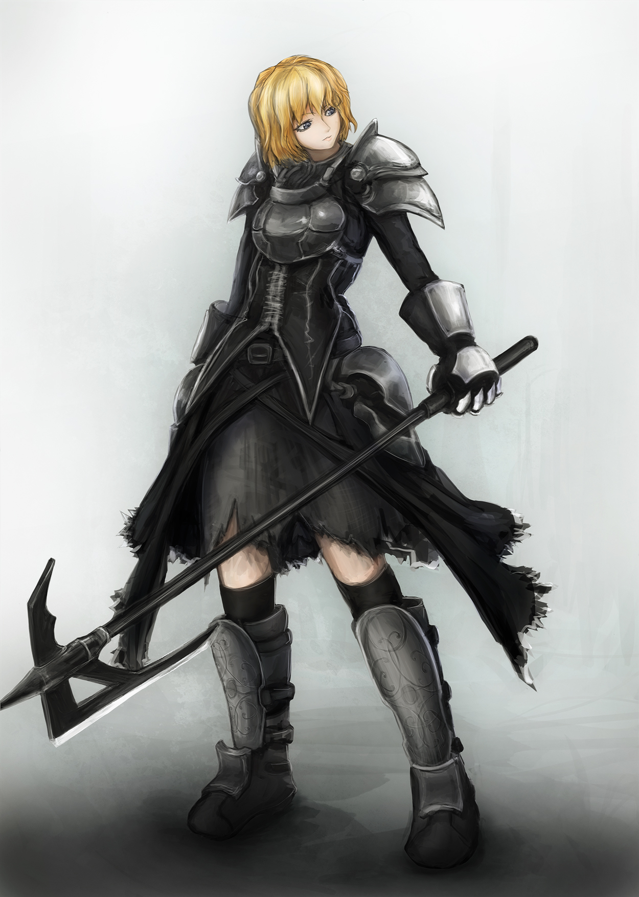 Anime Characters Knights : Female knight by altglanz on deviantart