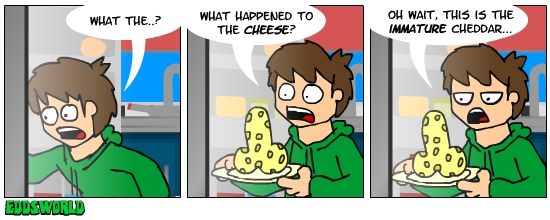 EWcomics No.20 - Cheese by eddsworld