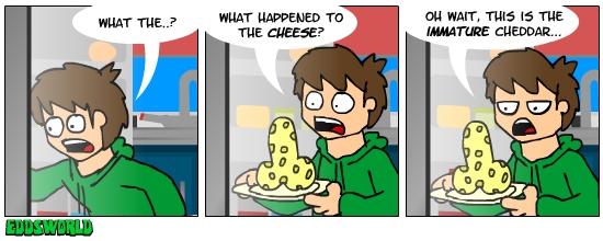 EWcomics No.20 - Cheese by eddsworld