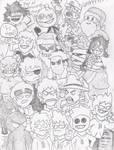 Large group sketch