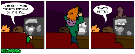 EWcomics No. 33 - Television by eddsworld