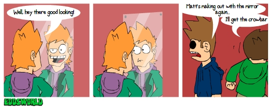 EWcomics No.64 - Mirror by eddsworld