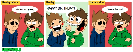 EW comics No. 66 - Birthday by eddsworld