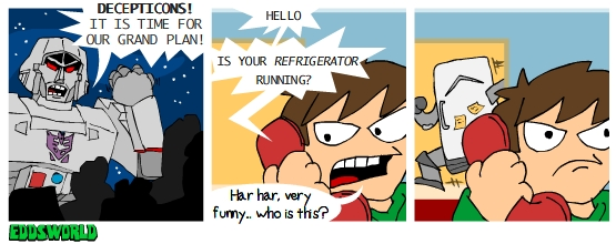 EWcomics67 - Decepticons by eddsworld