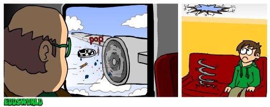 Ewcomics No. 73 - Airplane by eddsworld