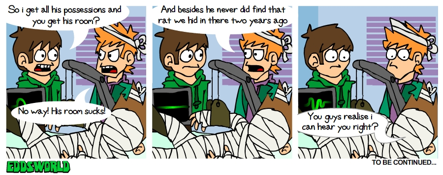 EWComics No 77 - Accident Pt.3 by eddsworld