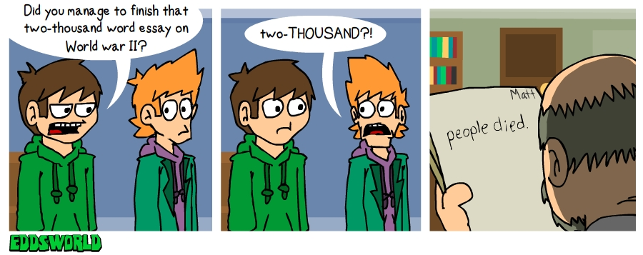EWCOMICS89 - Essay by eddsworld