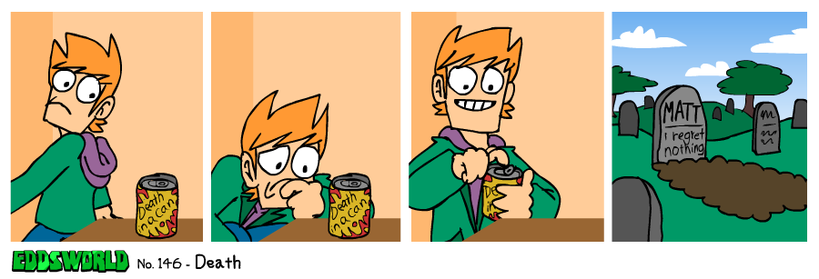 EWCOMIC No.146 - Death by eddsworld