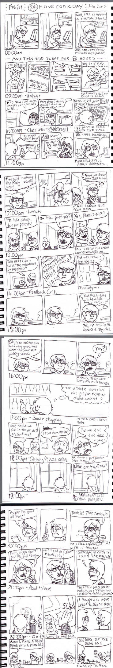 Hourly Comic Day 2011 by eddsworld