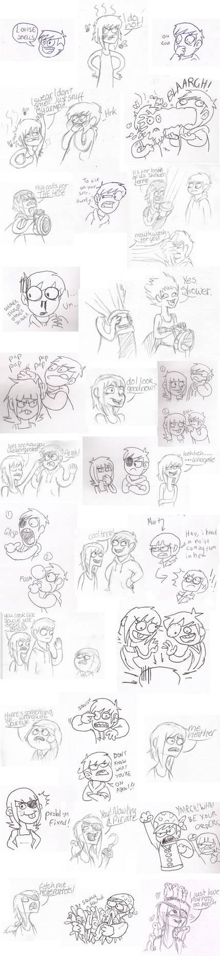 Doodle Fight via MMS