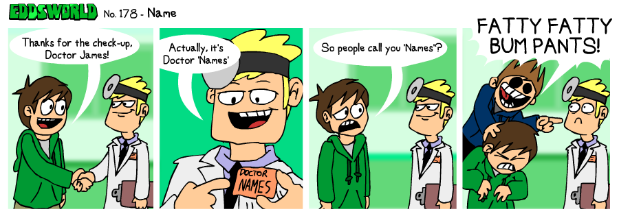 EWCOMIC No. 178 - Name by eddsworld