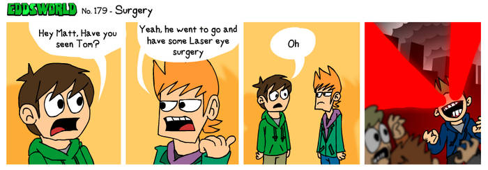 EWCOMIC No. 179 - Surgery by eddsworld