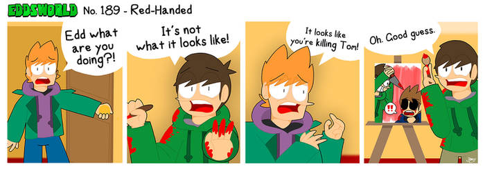 EWCOMIC No. 189 - Red-Handed