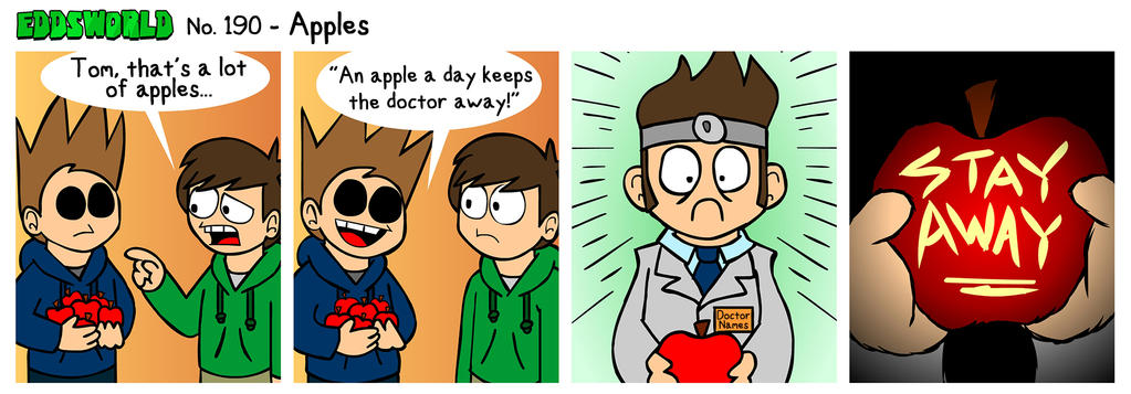 EWCOMIC No. 190 - Apples by eddsworld