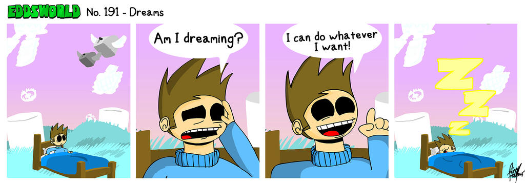 EWCOMIC No. 191 - Dreams by eddsworld