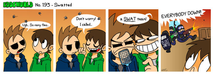 EWCOMIC No. 193 - Swatted
