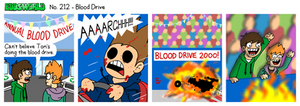 EWCOMIC No. 212 - Blood Drive