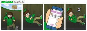 EWCOMIC No. 218 - Pit by eddsworld