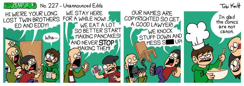 EWCOMIC No. 227 - Unannounced Edds by eddsworld