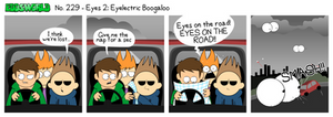 EWCOMIC No. 229 - Eyes 2 by eddsworld