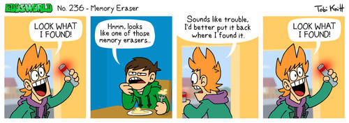 EWCOMIC No. 236 - Memory Eraser by eddsworld