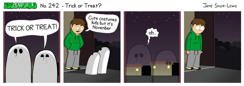 EWCOMIC No. 242 - Trick Or Treat