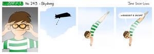EWCOMIC No. 243 - Skydiving!