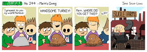 EWCOMIC No. 244 - Matt's Giving by eddsworld