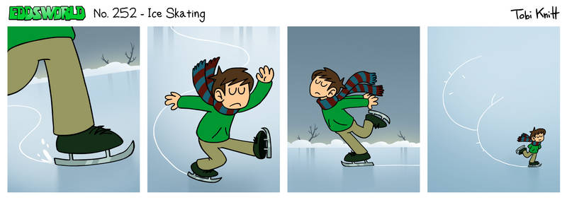 EWCOMIC No. 252 - Ice Skating