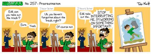 EWCOMIC No. 257 - Procrastination