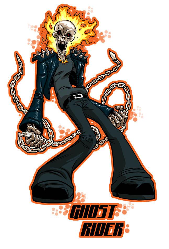 Ghost Rider T Shirt Design By Kofee77 On DeviantArt