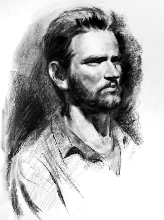 Male portrait by amtuart