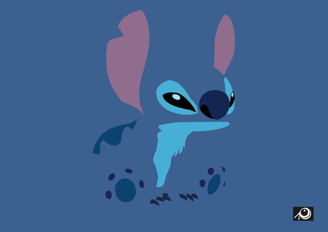 Stitch minimaliste by Cess on DeviantArt