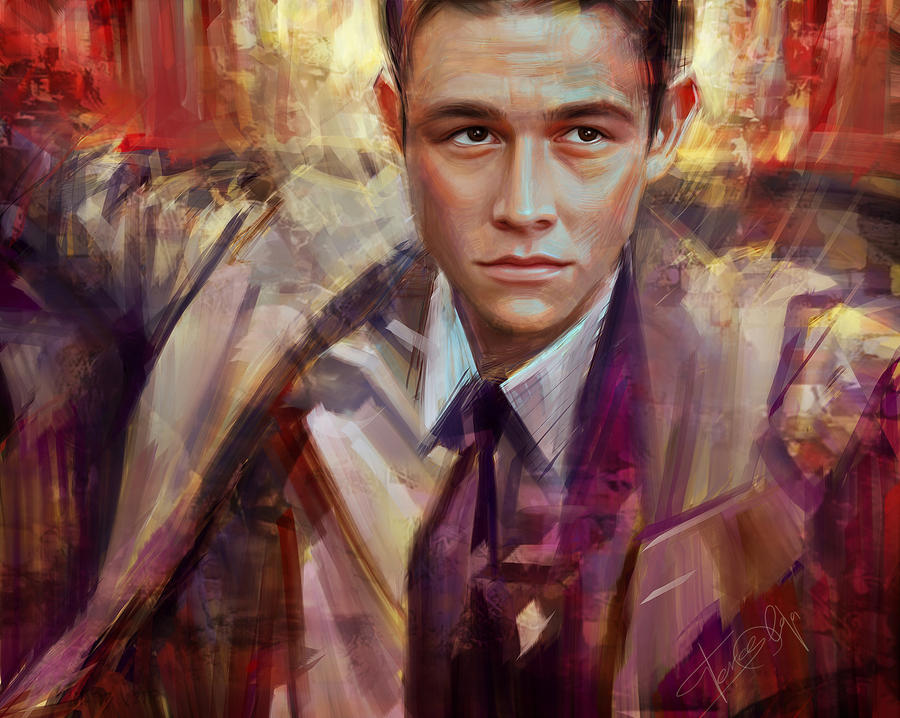 Joseph Gordon-Levitt by Olga-Tereshenko