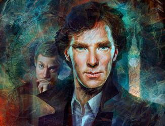 Sherlock by Olga-Tereshenko
