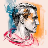 Matthew McConaughey by Olga-Tereshenko