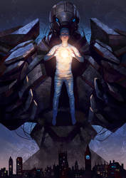 Book cover. Luridiumstyven by Olga-Tereshenko