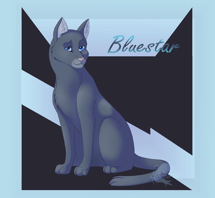 Warrior Cats Blue Star Quotes. QuotesGram Warrior Cat Drawings Bluestar